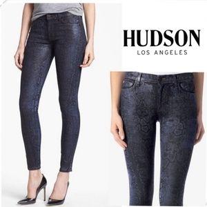 Hudson Jeans Nico Super Skinny Midrise Size 27